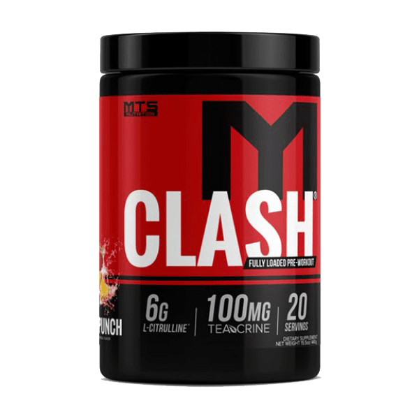 MTS Nutrition Clash pre workout singapore 4wn
