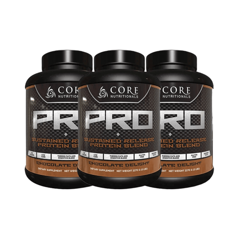 3 x Core Nutritionals PRO