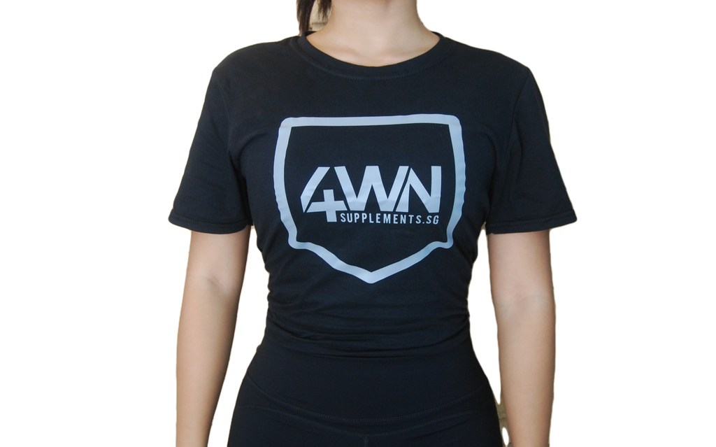 4WN Supplements BFCM Shirt (Grey logo)