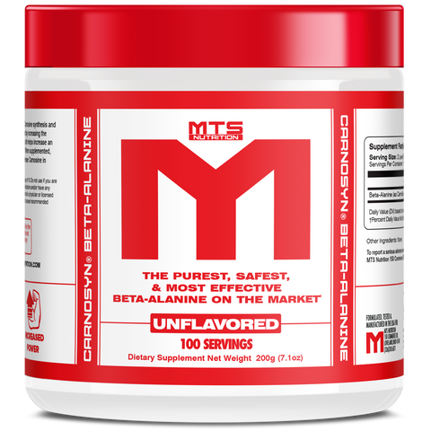 MTS Nutrition Beta Alanine 4wn supplements