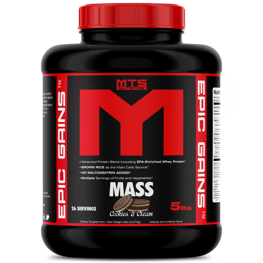 MTS Nutrition Epic Gains 4wn supplements singapore