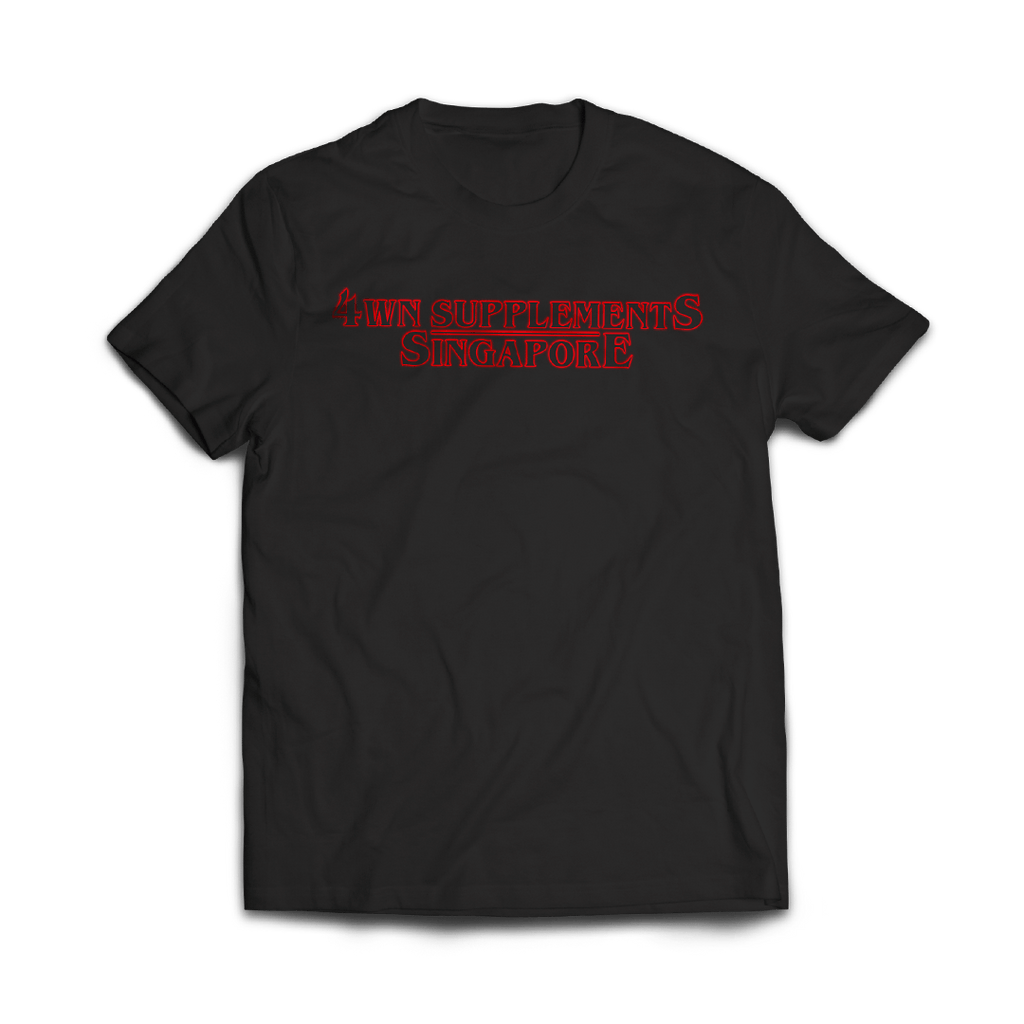 4WN Supplements Stranger Things T-Shirt
