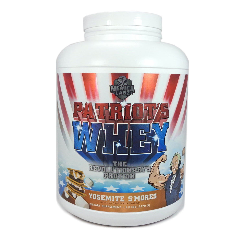 4WN Supplements Yosemite Smores Patriots Whey