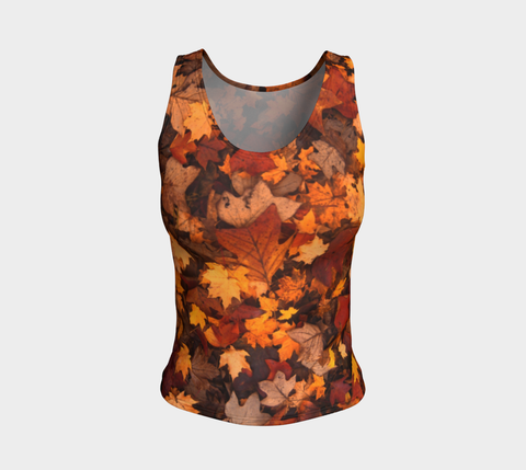 'Autumn Leaves' REGULAR Tank Tops