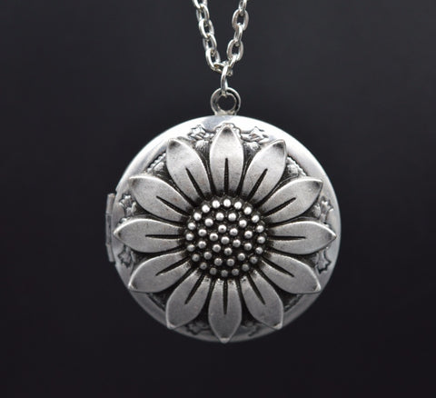 Sunflower Aromatherapy Diffusing Locket