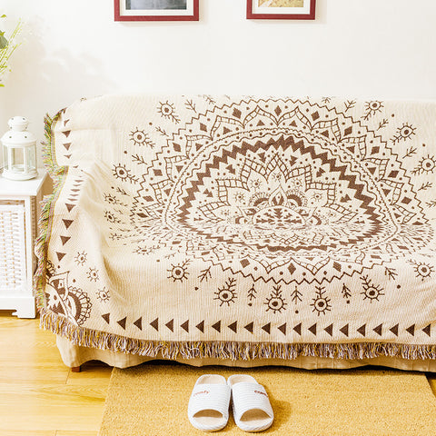 Mandala Cotton Throws