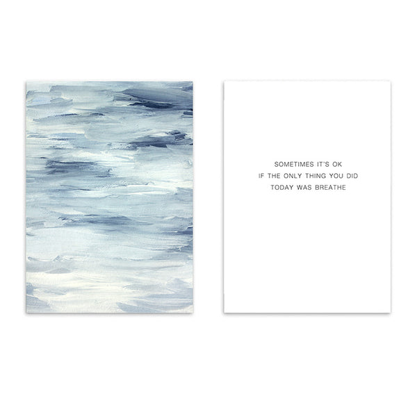 Blue Sea Wall Art Canvas Prints
