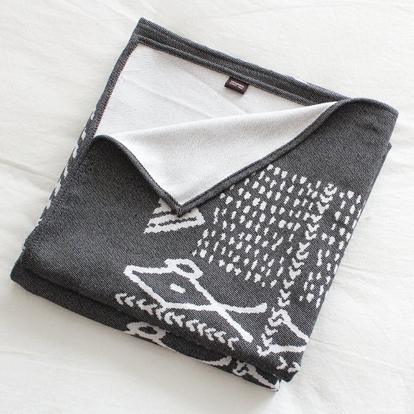 Bamboo/Cotton Travel Blanket