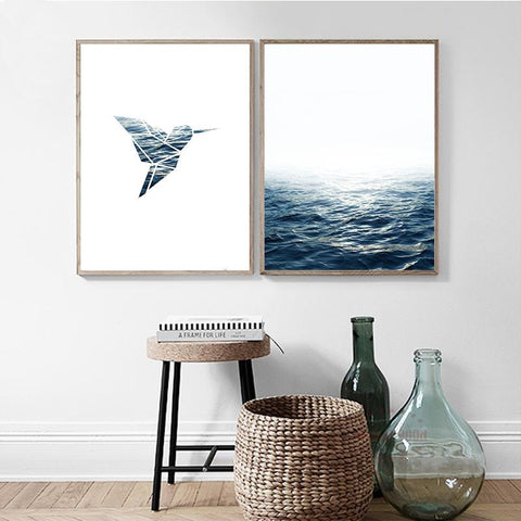 Sea Bird Wall Art Canvas Prints