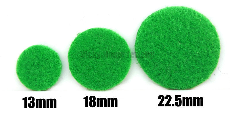 Green Aroma Replacement Pads - Round