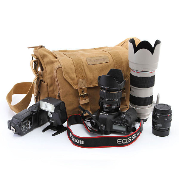 Professional Canvas Camera Bag