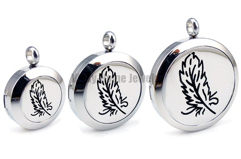 Feather Essential Oils Diffuser Locket