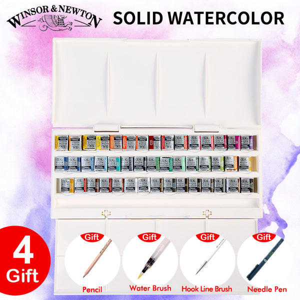 Winsor & Newton Imported Solid Watercolor Pan Paints