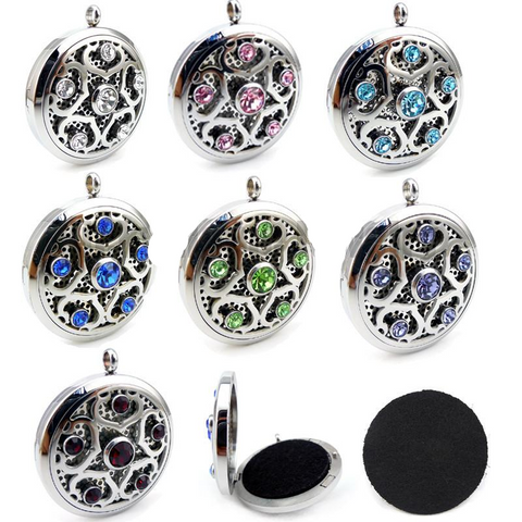 Crystal Essential Oils Diffuser Locket
