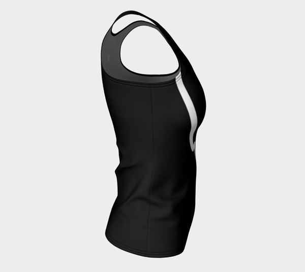 'Gymnastics' Fitted Long Tank Tops