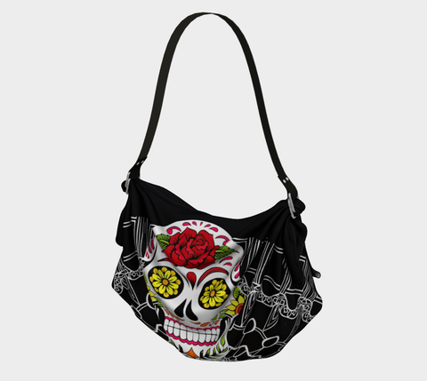 'Day of the Dead' Origami Tote Bags