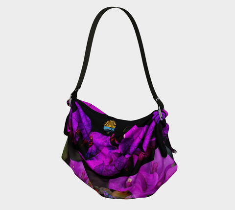 Purple Bougainvillea Tote Bags