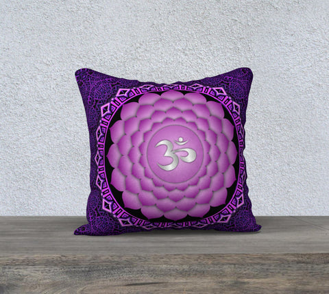 "'Crown Chakra' Cushion Covers 18"" x 18"""