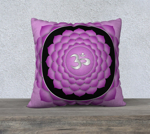 "'Crown Chakra' Cushion Covers 22"" x 22"""