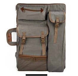 Portable Canvas Art Bag Backpack
