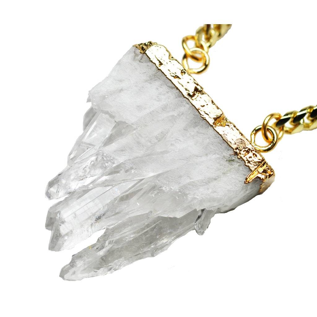 Crystal Stalactite Necklace - fifthandmaple