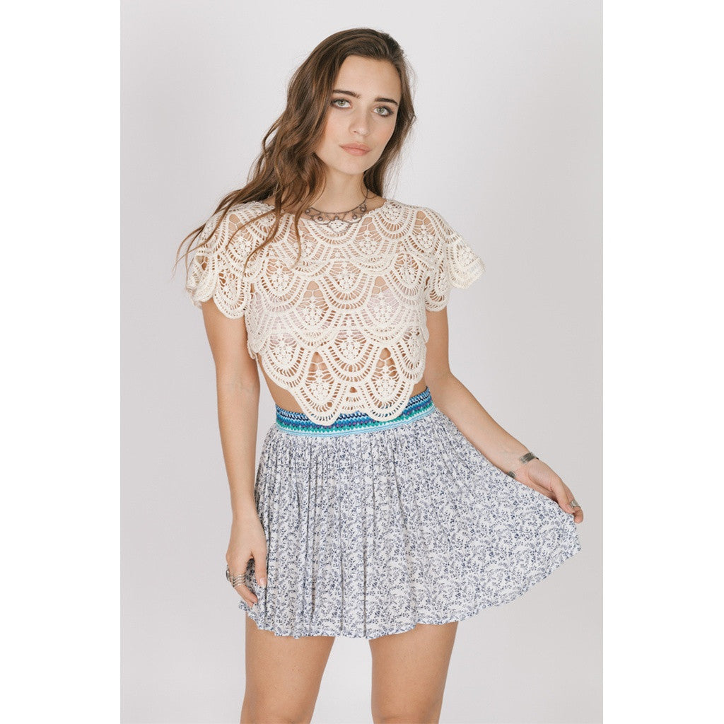 Love Spell Mini Skirt - fifthandmaple