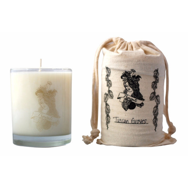 Trovati Soy Wax Candle - Tuscan Groves - fifthandmaple