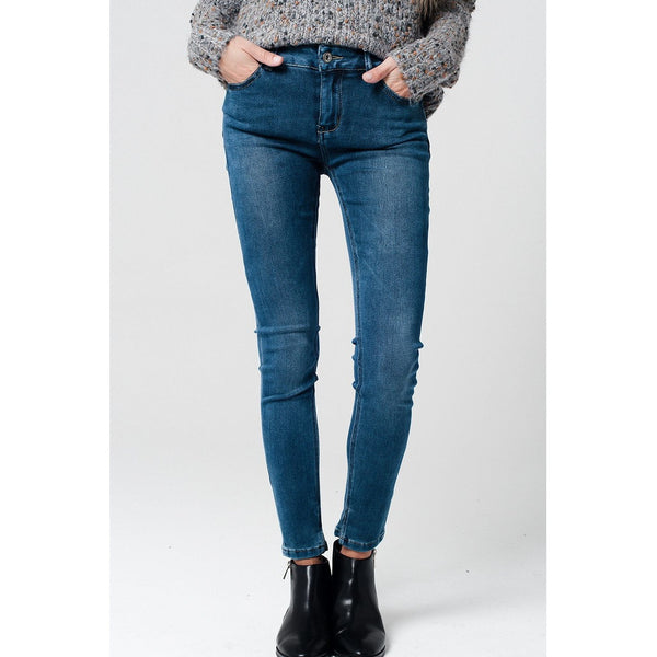Soft Touch Elastic Jeggings - fifthandmaple
