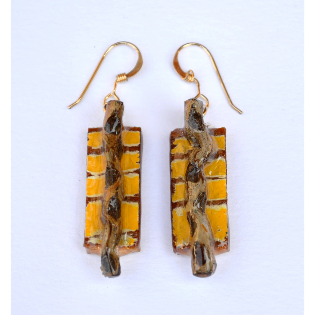 Handmade Wooden Earrings - fifthandmaple