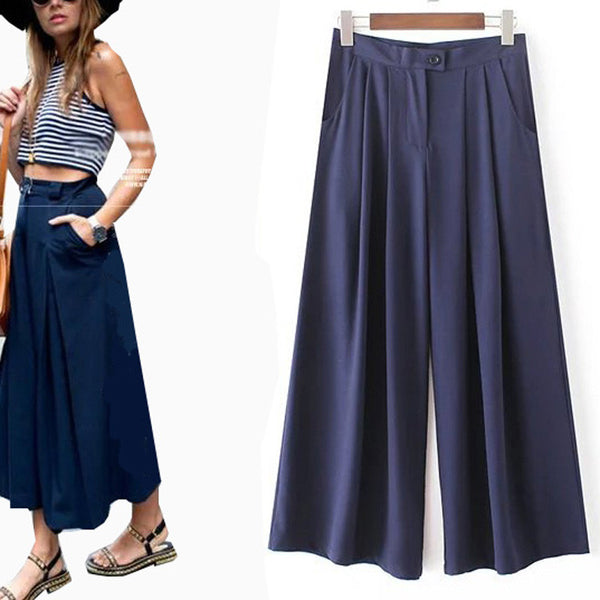 Ankle-Length Loose Leg Pants