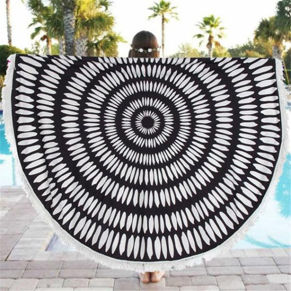 Scarf - Circular Pattern Cover Up