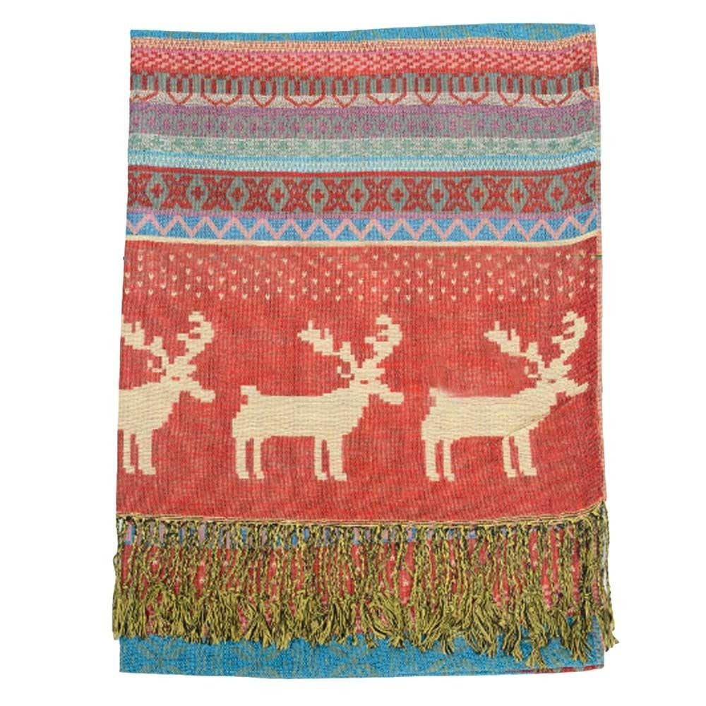 Scarf - Winter Moose Scarf
