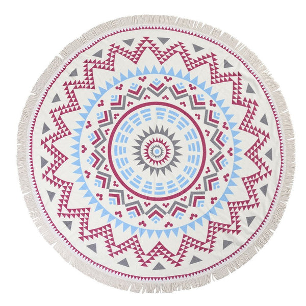 Tapestry - Circular Aztec Pattern Tapestry