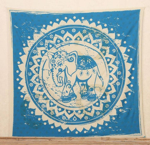 Tapestry - Elephant Print Tapestry