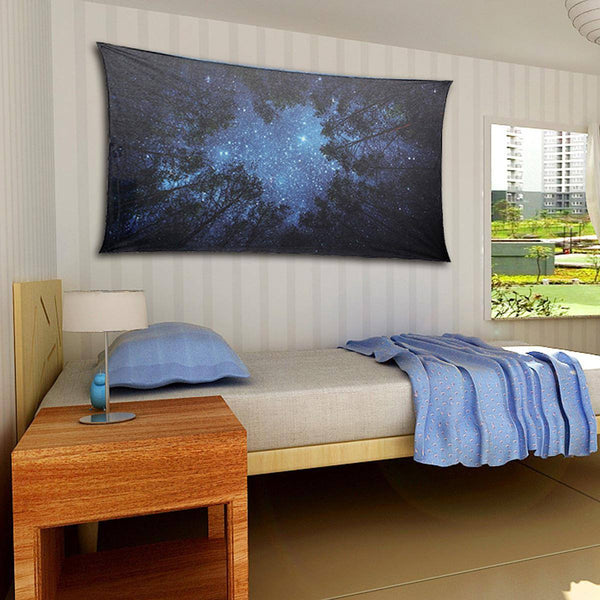 Tapestry - Forest Night Sky Tapestry