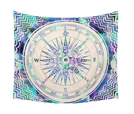 Tapestry - Handmade Compass Tapestry