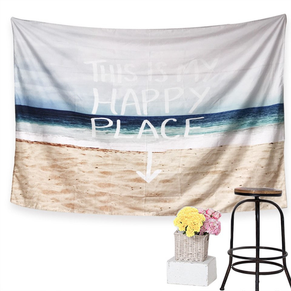My Happy Place Tapestry - fifthandmaple