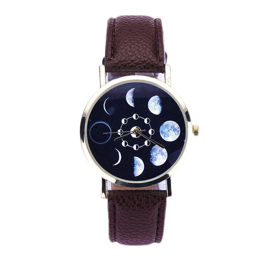 Watch - Moon Phase Wristwatch