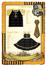 Harry Potter Inspired Dress/shirt Preorder
