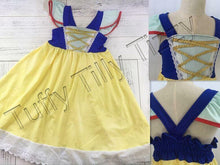 Snow White Princess Play Dress