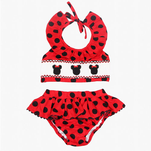 Minnie Mouse Smocked Swimsuit
