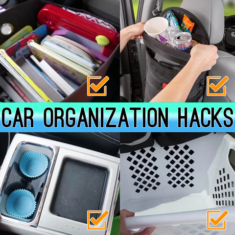 12 Car Organization Hacks Essential for Traveling with Kids