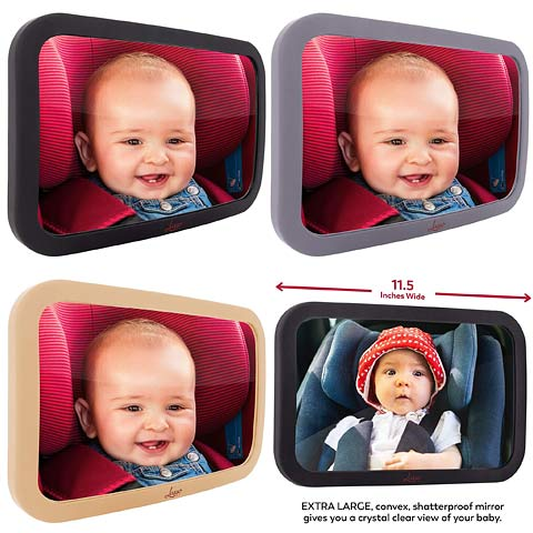 Baby Car Mirror by Lusso Gear On A Limited Time Sale