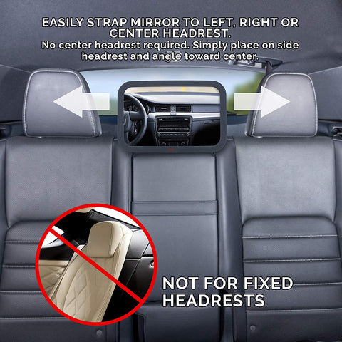 Image of Baby Mirror For Car