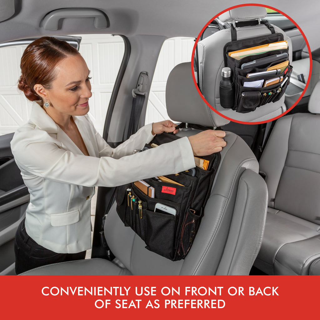 Front Car Seat Organizer Truck Office File Police Lusso Gear