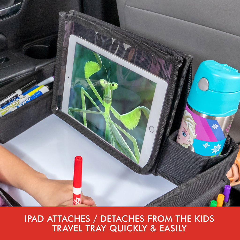 Travel tray for car seat