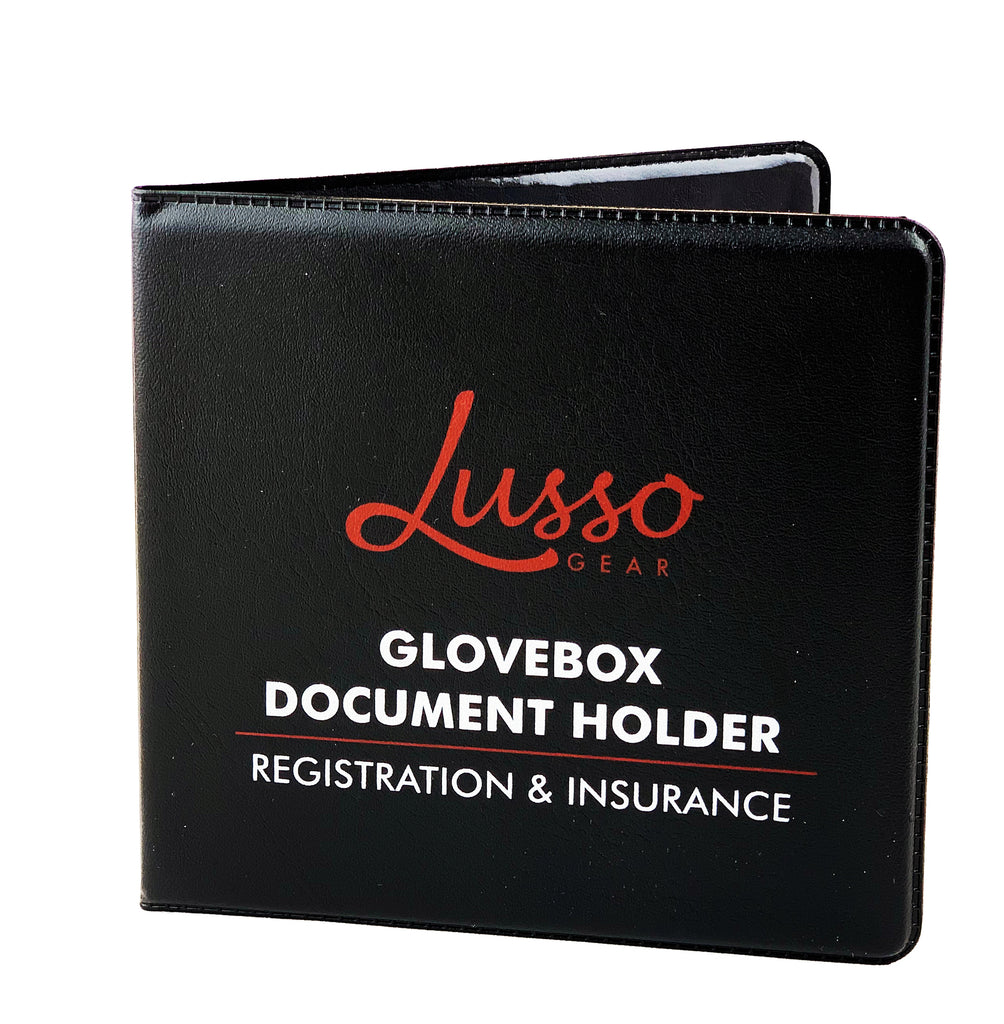 Car document holder