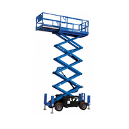 Scissor Lifts - Diesel All terrain
