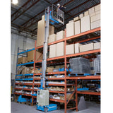 Genie GR15 vertical man lift warehouse 9b23d199-ec2f-4a17-8454-edd7df250322