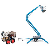 Trailer cherry picker (17m) & Pressure Washer Package - Mega Hire